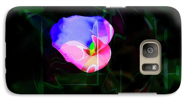 Galaxy Case featuring the photograph Flower Wower by Al Bourassa