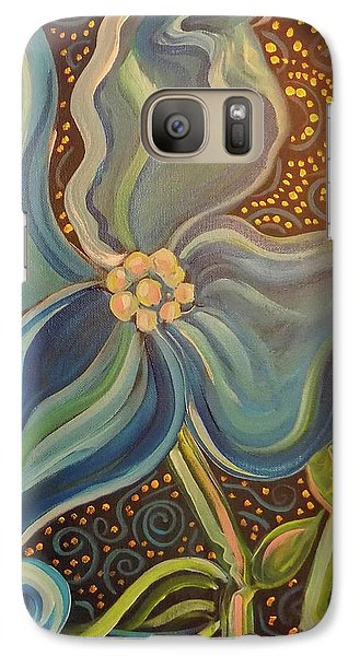 Galaxy Case featuring the painting Flowering Dogwood by John Keaton