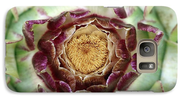 Galaxy Case featuring the photograph Flowering Houseleek by Michal Boubin