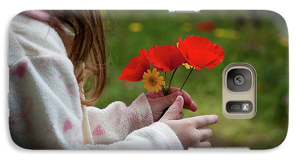 Galaxy Case featuring the photograph Flowers by Bruno Spagnolo