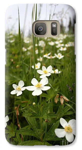 Galaxy Case featuring the photograph Flowers Everywhere by Andrew Serff