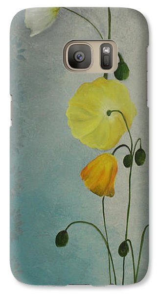 Galaxy Case featuring the painting Flowers For Everyone by Jane Autry