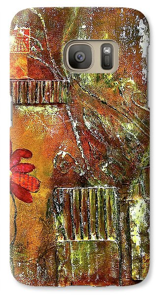 Flowers Grow Anywhere Galaxy S7 Case