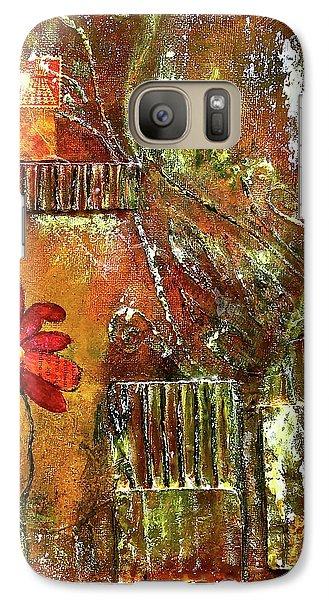 Flowers Grow Anywhere Galaxy S7 Case