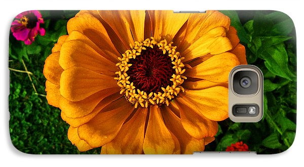 Galaxy Case featuring the photograph Flowers In A Flower 005 by George Bostian