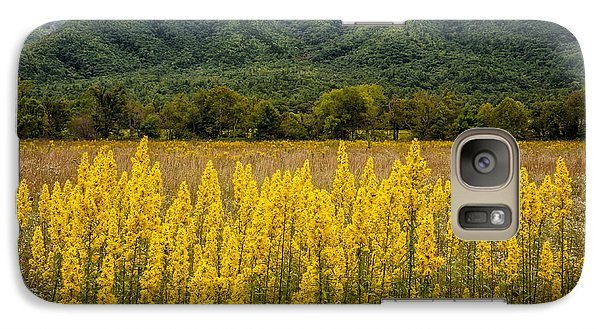 Galaxy Case featuring the photograph Flowers In Cades Cove by Tyson Smith