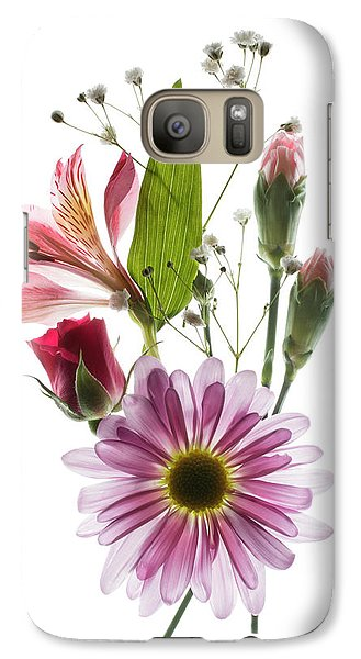 Galaxy Case featuring the photograph Flowers Transparent 1 by Tom Mc Nemar
