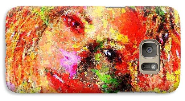 Flowery Shakira Galaxy S7 Case