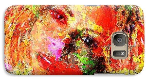 Flowery Shakira Galaxy S7 Case by Navo Art
