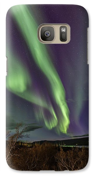 Flowing Aurora Galaxy S7 Case