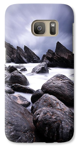 Galaxy Case featuring the photograph Flowing by Jorge Maia