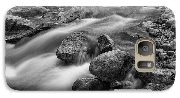 Galaxy Case featuring the photograph Flowing Rocks by James BO Insogna