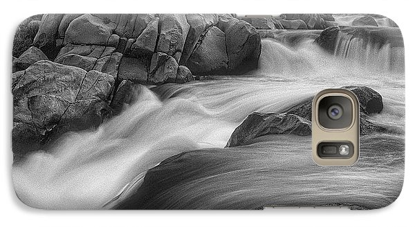 Galaxy Case featuring the photograph Flowing Waters At Kern River, California by John A Rodriguez