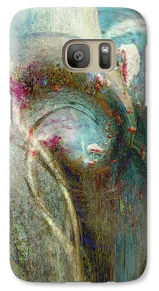 Galaxy Case featuring the digital art Flugufrelsarinn by Linda Sannuti