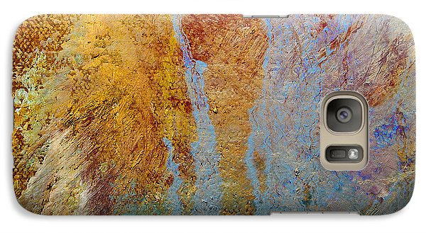 Galaxy Case featuring the mixed media Fluid by Michael Rock