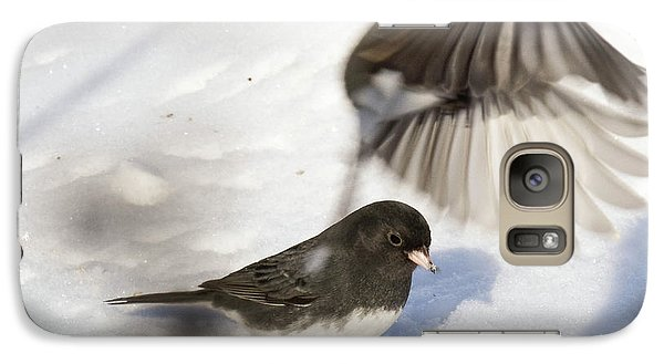 Galaxy Case featuring the photograph Fly By by Gary Wightman