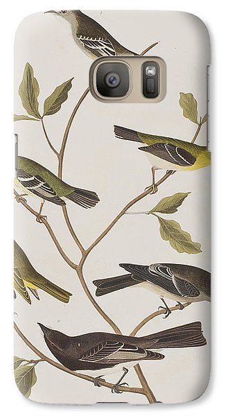 Flycatcher Galaxy S7 Case - Fly Catchers by John James Audubon