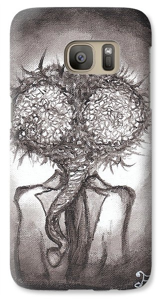 Galaxy Case featuring the painting Fly Guy by Christophe Ennis