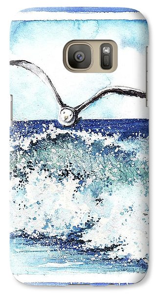 Galaxy Case featuring the painting Fly High by Heidi Kriel