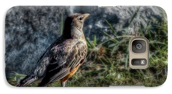 Galaxy Case featuring the photograph Fly Robin Fly by Pennie  McCracken