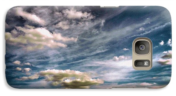 Galaxy Case featuring the photograph Flyaway by Tom Druin