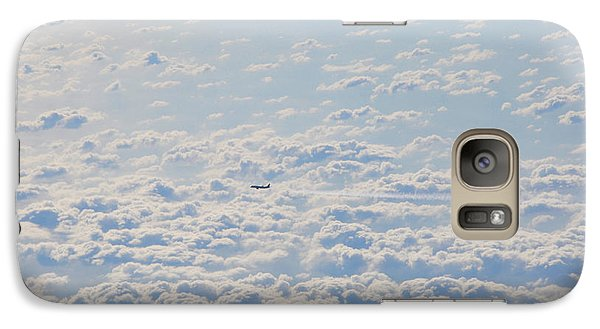 Galaxy Case featuring the photograph Flying Among The Clouds by Bill Cannon