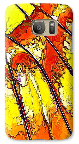 Galaxy Case featuring the digital art Flying Away...2 by ABeautifulSky Photography