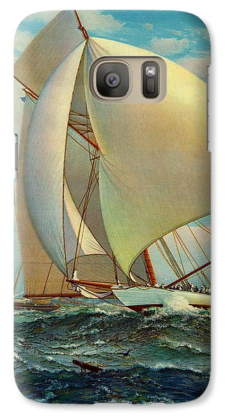 Galaxy Case featuring the photograph Flying Defender 1895 by Padre Art