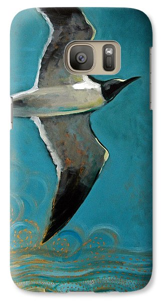 Galaxy Case featuring the painting Flying Free by Suzanne McKee