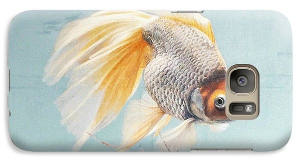Flying In The Clouds Of Goldfish Galaxy Case by Chen Baoyi