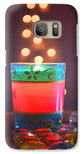 Galaxy Case featuring the photograph Flying Light by Rima Biswas