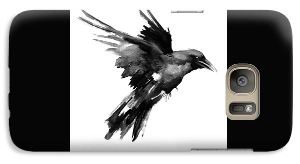 Flying Raven Galaxy S7 Case by Suren Nersisyan
