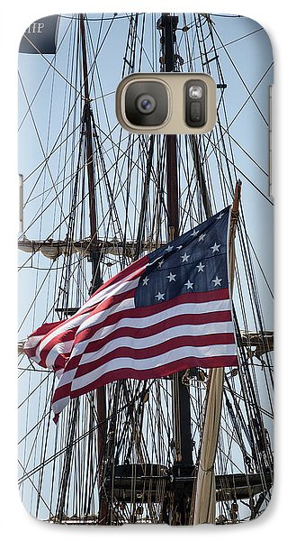 Galaxy Case featuring the photograph Flying The Flags by Dale Kincaid