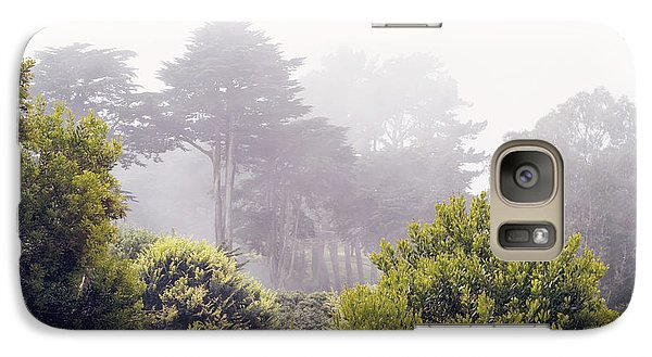 Galaxy Case featuring the photograph Fog At Lands End by Cindy Garber Iverson