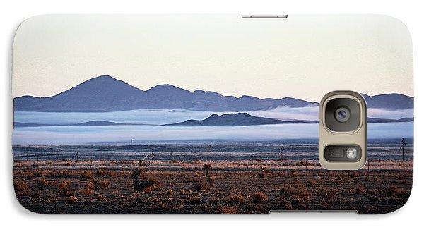Fog In The Peloncillo Mountains Galaxy S7 Case