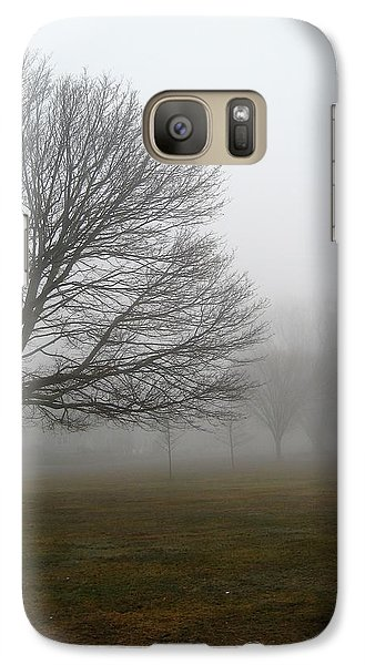 Galaxy Case featuring the photograph Fog by John Scates