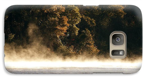 Galaxy Case featuring the photograph Fog On The Catawba by Greg Simmons