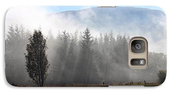 Galaxy Case featuring the photograph Fog On The Road To Fintry by RKAB Works