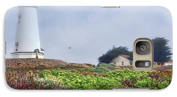 Galaxy Case featuring the photograph Fog - Piedras Blancas by Nikolyn McDonald
