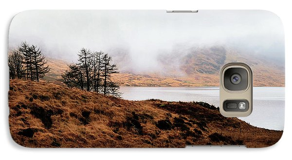 Foggy Day At Loch Arklet Galaxy S7 Case