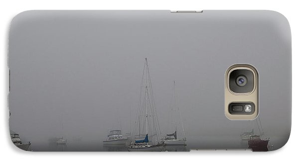Galaxy Case featuring the photograph Waiting Out The Fog by David Chandler