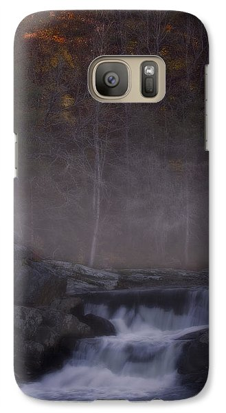 Galaxy Case featuring the photograph Foggy Morning At Linville Falls by Ellen Heaverlo