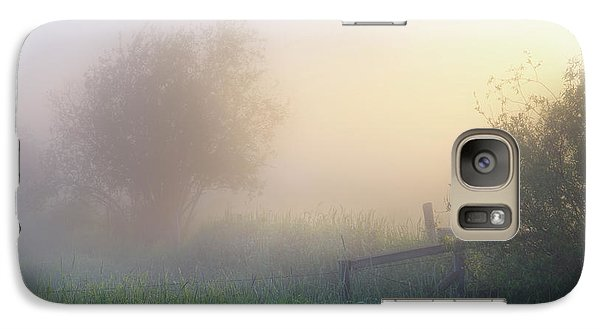 Galaxy Case featuring the photograph Foggy Morning by Dan Jurak