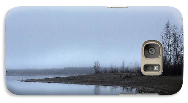 Galaxy Case featuring the photograph Foggy Water by Victor K