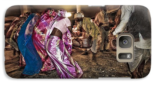 Folk Dance Galaxy S7 Case by Hitendra SINKAR