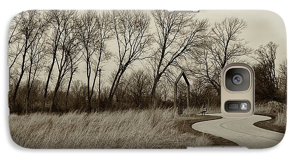 Galaxy Case featuring the photograph Follow The Path by Elvira Butler