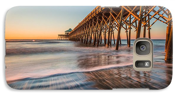Galaxy Case featuring the photograph Folly Pier by RC Pics