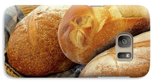 Galaxy Case featuring the photograph Food - Bread - Just Loafing Around by Mike Savad