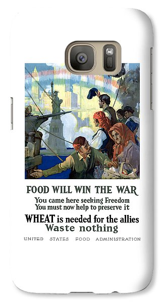 Statue Of Liberty Galaxy S7 Case - Food Will Win The War by War Is Hell Store