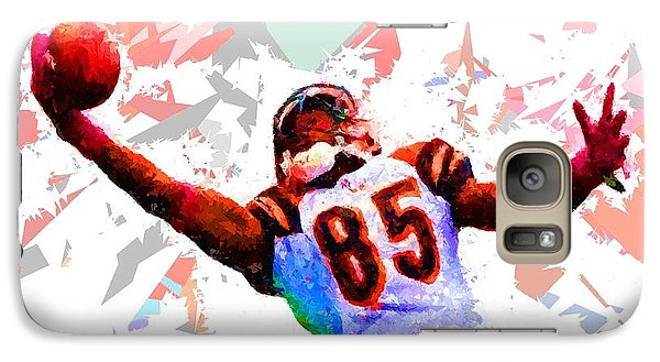 Galaxy Case featuring the painting Football 114 by Movie Poster Prints